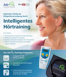 [S108] hörFit Intelligentes Hörtraining-Flyer