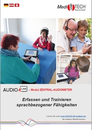 [S174-DE] Audio4LAB-Modul Zentral-Audiometer