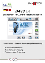 "[S192-DE] Flyer BASS 1.0 ""Quick test for central hearing functions"